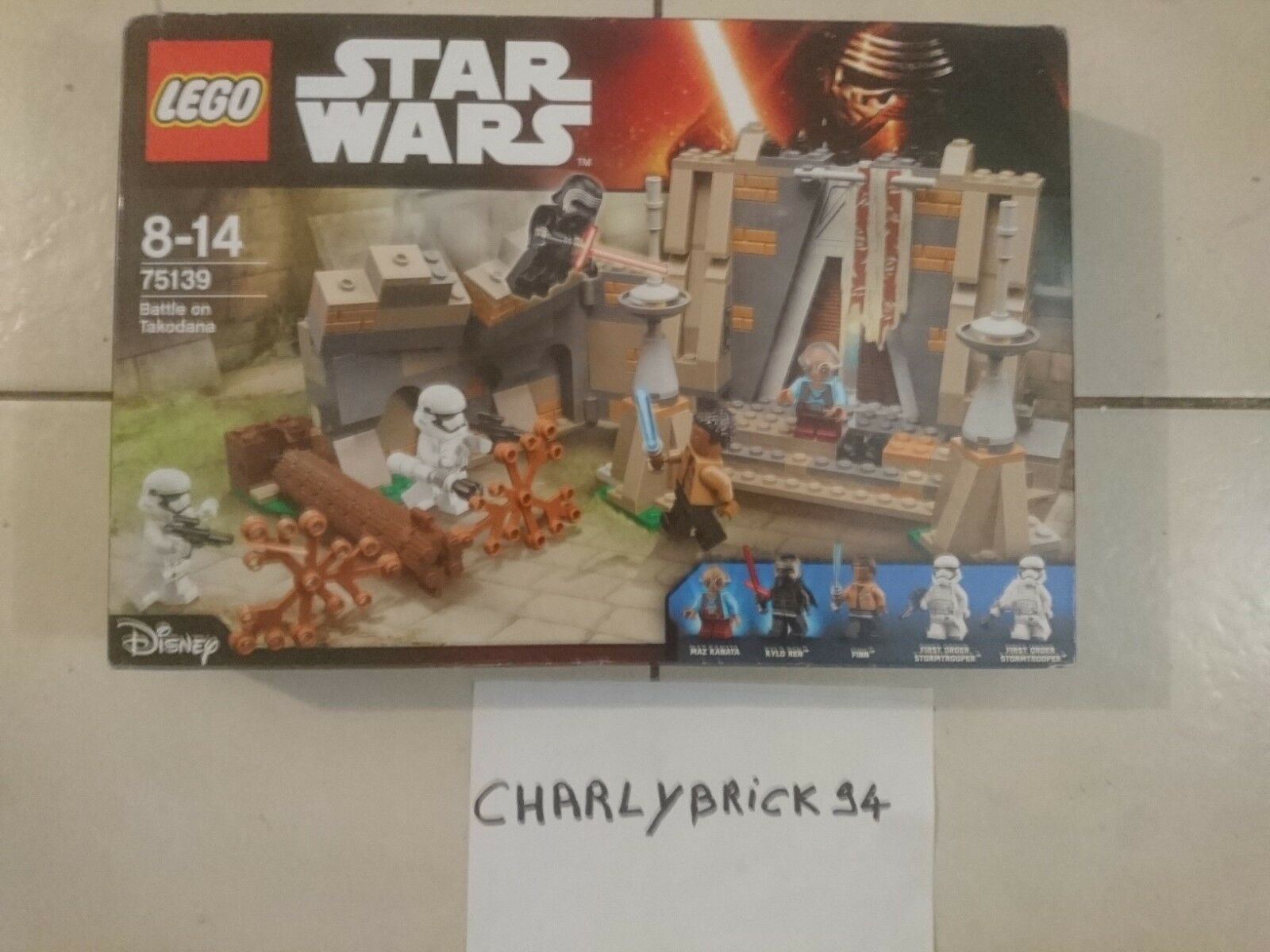 LEGO Star Wars 75139 Bataille de Takodana neuf scellé | New sealed