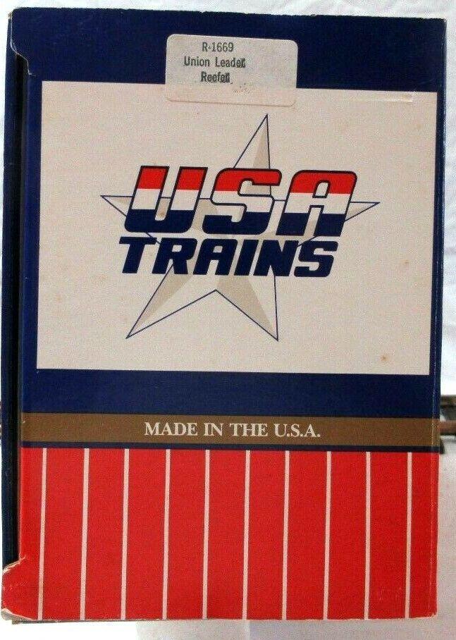 USA TRAINS 1669 UNION LEADER REEFER