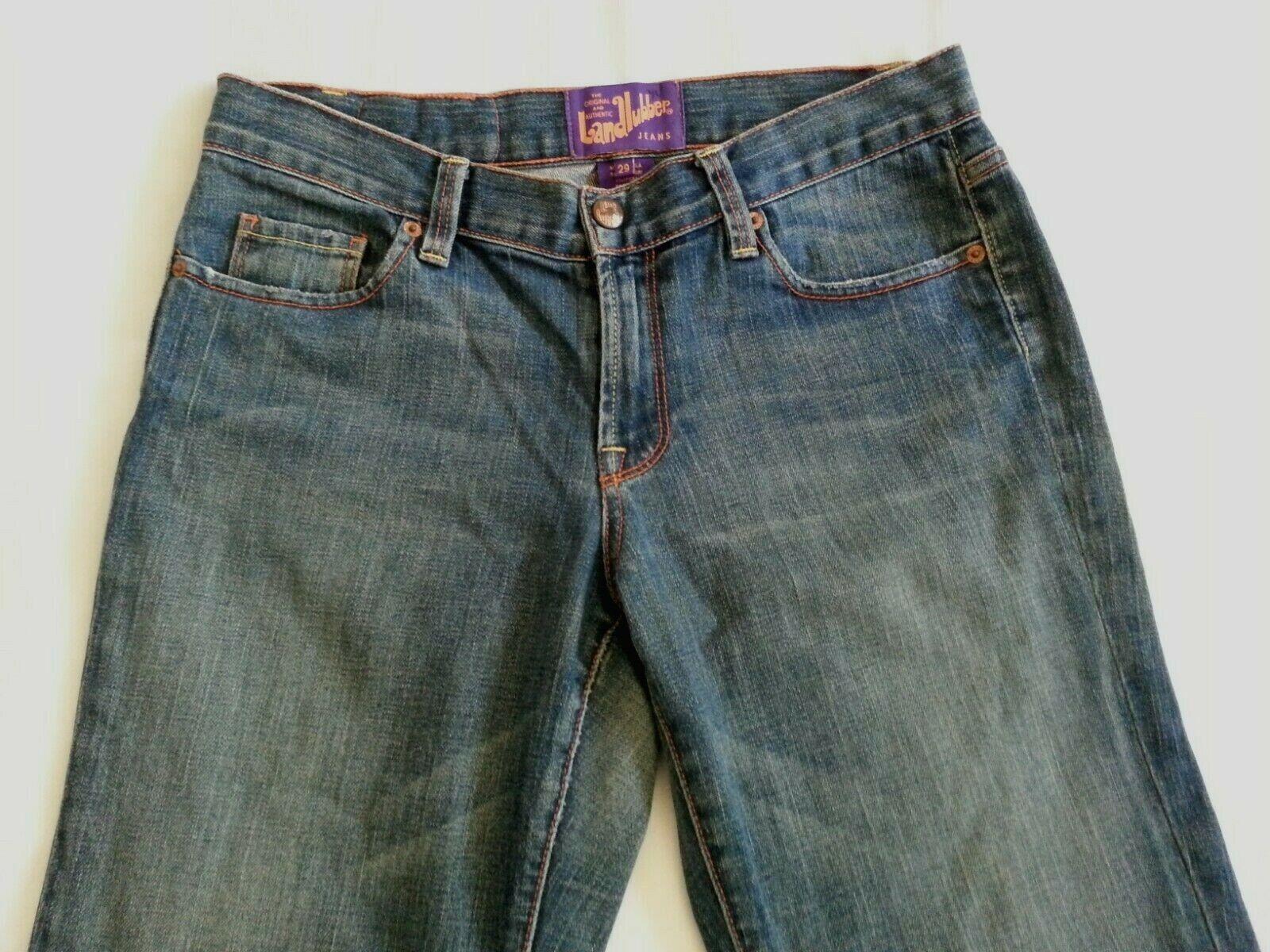 Vintage Women's Landlubber Denim Jeans Pants Size… - image 5