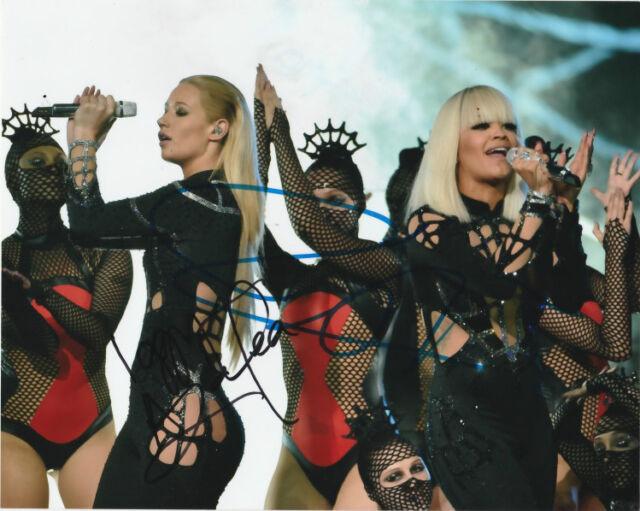Iggy Azalea Rita Ora Signed Autographed 8x10 Photo COA