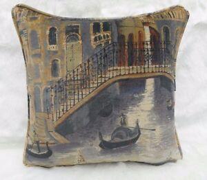 Zoffany Fabric Cushion Cover The Gondolier Twilight