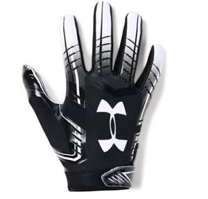 NWT/'s Under Armour Youth UA F6 Football Skill Gloves Glue Grip 3 Sizes FREE SHIP