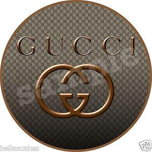 Essbarer Tortenaufleger Gucci Designer Backen Tortenbild Dvd Kuchen