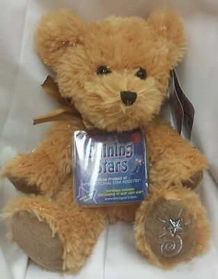 SHINING STARS HONEY BEAR, BRAND NEW UNUSED, GREAT PLUSH