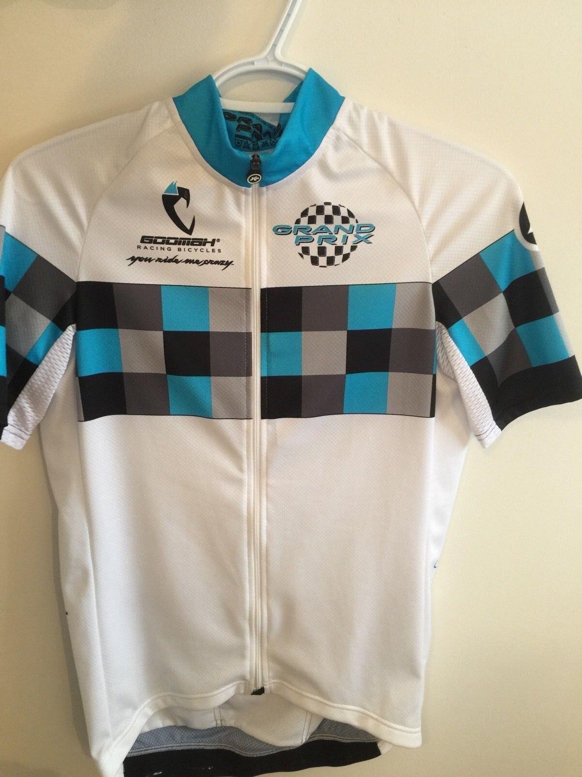 New ASSOS SS.GRANDPRIXJERSEY_EVO8 Cycling Jersey Dimensione Medium