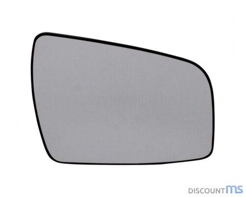 Vidrio pulido derecha cromado convexo calefactable para Opel 09-11