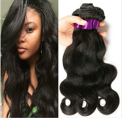 1 bundle New 100% Brazilian Virgin Hair Human Hair Extensions Weft Body Wave 50g
