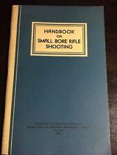 9781163193303 Handbook on Small Bore Rifle Shooting Equipment .. Marksmanship