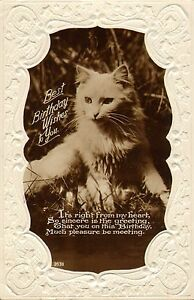 Image Is Loading 1920s Or 30s Real Photo Postcard Best Birthday
