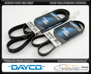 Dayco-Poly-Rib-Drive-amp-A-C-Belts-for-HOLDEN-CALAIS-VT-5-7L-V8-LS1-GEN-III
