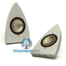 FOCAL HOME AUDIO TA 452 PAIR ALUMINUM MAGNESIUM ALLOY INVERTED DOME TWEETERS NEW