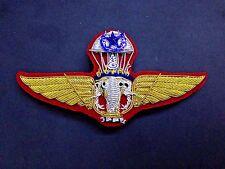 KING_MAJESTY_ROYAL_THAI_ARMY_MASTER_PARACHUTE_BADGE_COMMANDO_PARA_AIRBORNE_WING