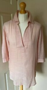 Nutmeg-Uk-8-Beach-Cover-Up-Cotton-Blend-Tunic-Peach