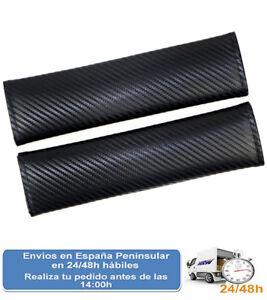 Cubre-cinturones-universal-para-coche-tipo-carbono-Envio-express