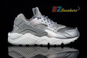 Nike Air Huarache plata