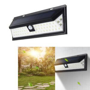 Lampe-Solaire-54-Led-Mur-Exterieure-Eclairage-Luminaire-Detecteur-De-Mouvement