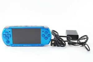 Sony-PSP-3000-Launch-Edition-Vibrant-Blue-Handheld-System-Console-Excellent