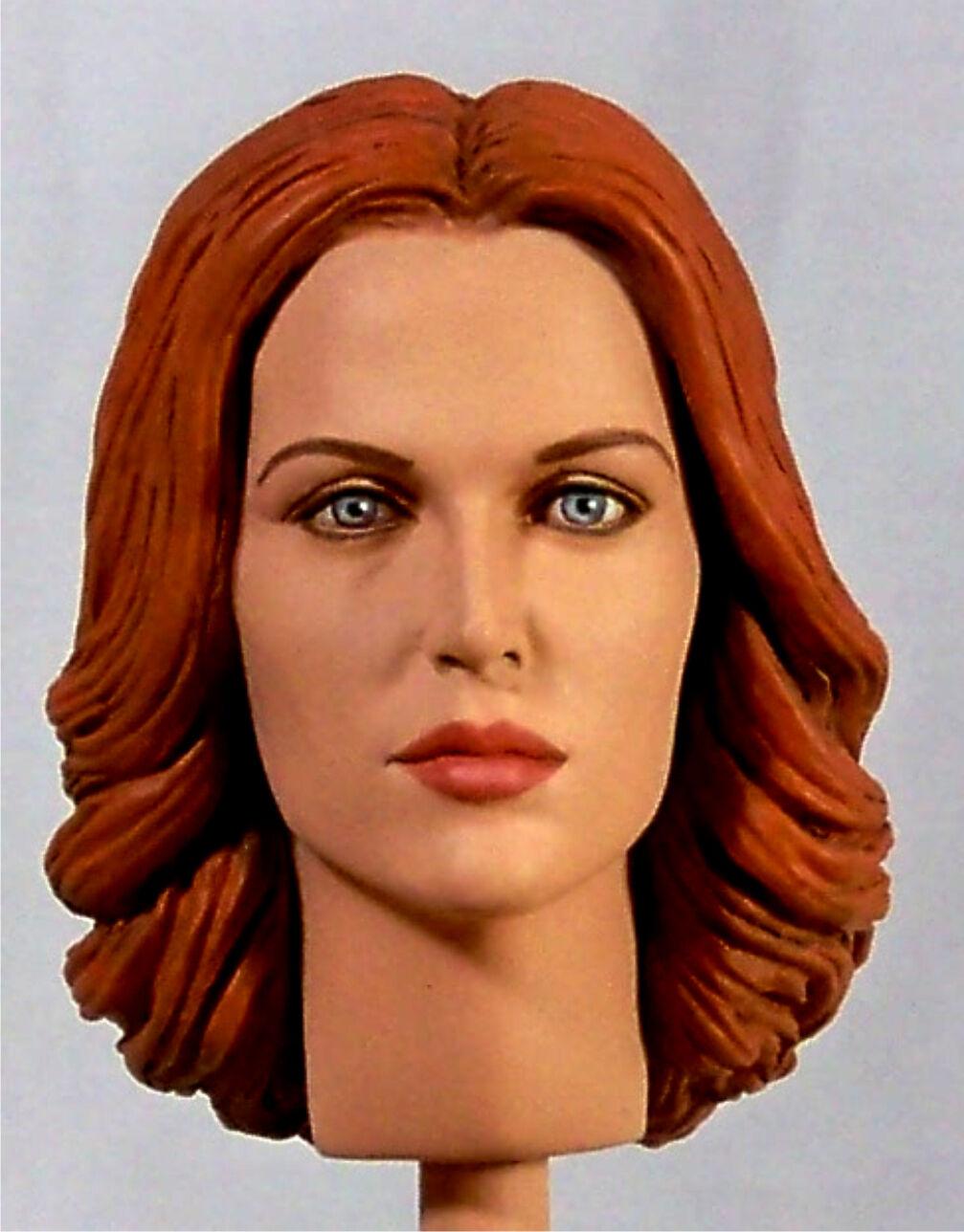 1:6 Custom testa di Gillian Anderson come Dana Scully V2 dal X-Files Stagione 11