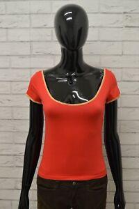 Maglia-1-CLASSE-Donna-Taglia-Size-S-Maglietta-Shirt-Woman-Elastico-Manica-Corta