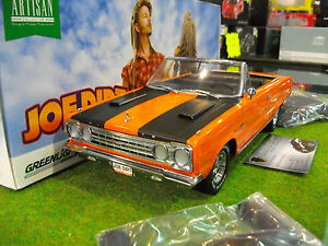 PLYMOUTH-BELVEDERE-GTX-CONVERTIBLE-au-1-18-GREENLIGHT-19006-voiture-miniature
