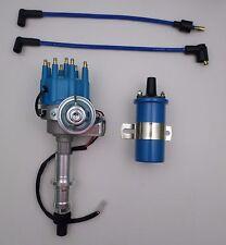 Pontiac Blue Small Cap Hei Distributor Blue 45k Coil 301 326 350 389 400 455