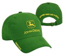 NEW John Deere Green Twill Cap Hat Owner's Edition NRLD JD Logo 228426