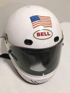 a8177731 Bell RS III RS 3 Motosport Vintage Formula Racing Full Face Helmet ...