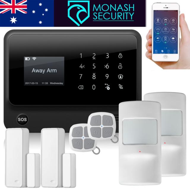 Wireless Home Security Alarm System 3G / WiFi / GPRS -Control via App  G90B  PLUS