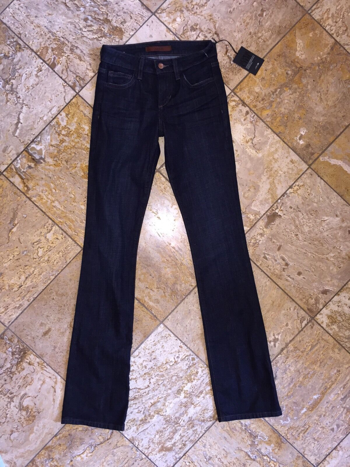 NWT Joe's Jeans Dark bluee Denim Skinny Leg Pants Curvy Bootcut Honey Women's 24