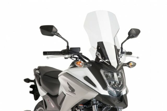 PUIG WINDSHIELD TOURING HONDA NC750X 16-20 CLEAR