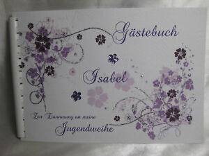 Gastebuch Din A5 Jugendweihe In Vielen Farben Tischdeko Geschenk