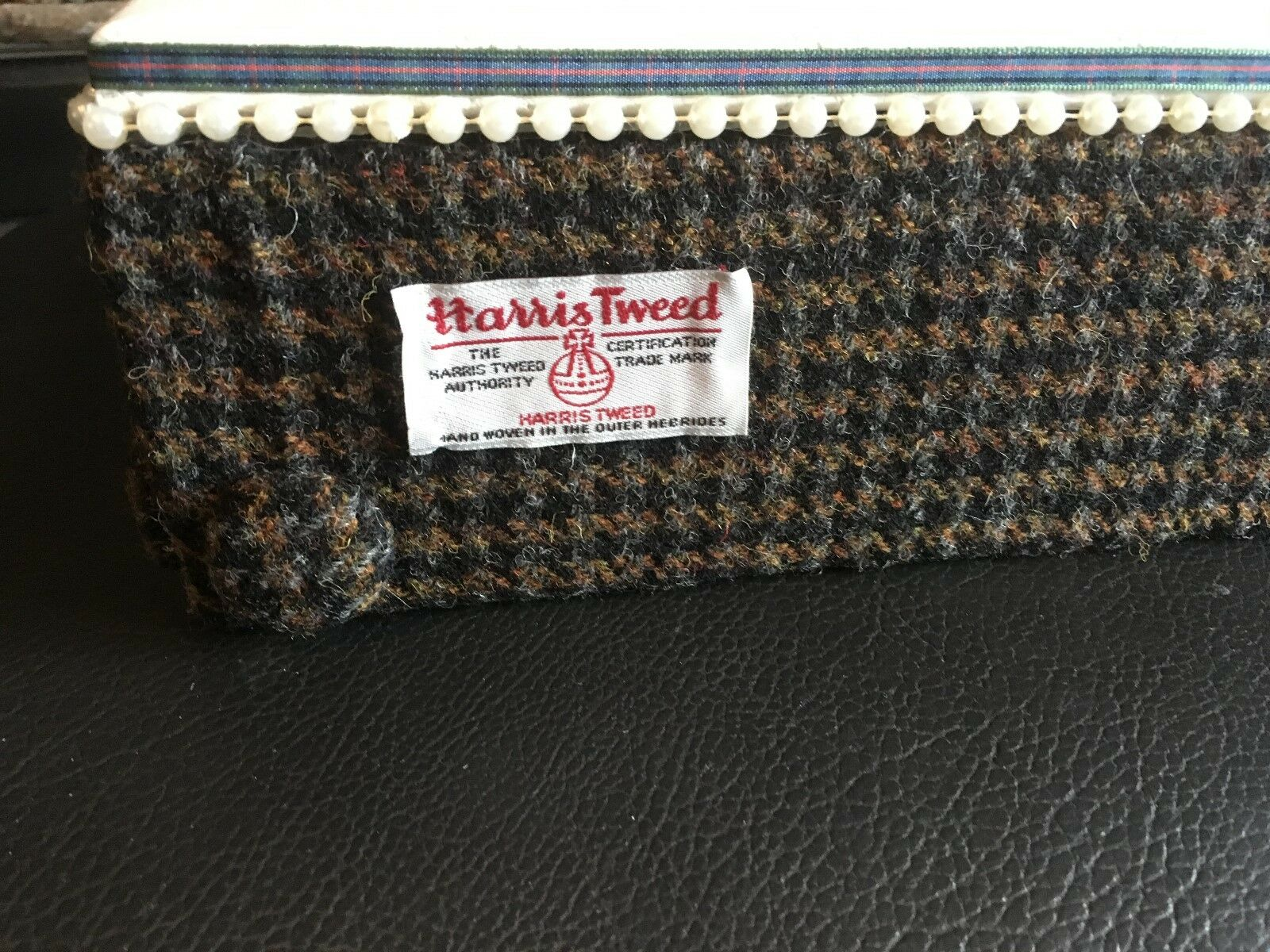 Minas Deluxe Harris Tweed anniversaire/Occasion spéciale/Gâteau De Mariage Support Support Mariage 13