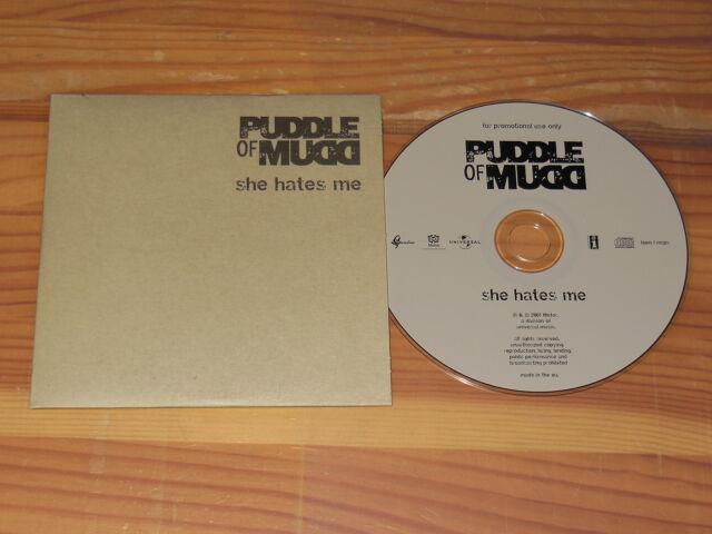 PUDDLE OF MUDD - SHE HATES ME / 1 TRACK PR-MAXI-CD 2001 (CARDSLEAVE)
