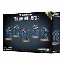 40K Primaris Hellblasters Space Marines Combat Squad Warhammer Adeptus Astartes