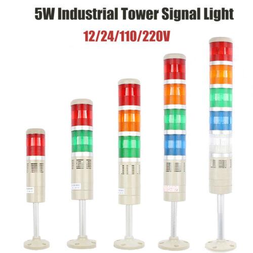 12 24V LED Blitzlicht Warnlicht Alarmanlage Signalleuchte 110 220V