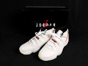 3e6b3a06fe8c □Nike Air Jordan 11 Retro XI PLATINUM TINT SAIL UNIVERSITY RED ...