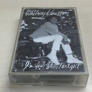 Whitney-Houston-I-039-m-Your-Baby-Tonight-Album-On-Cassette-Tape-TESTED
