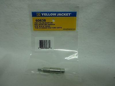 "Ritchie Yellow Jacket 60638 Shorter Hex Key Adapter 3/16"" & 5/16"" York / Coleman"