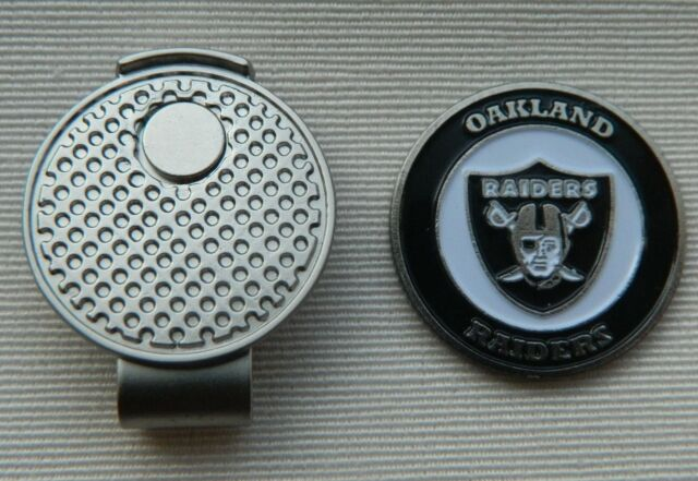 8c8996c2 NFL Oakland Raiders Golf Ball Marker and Magnetic Divot Tool