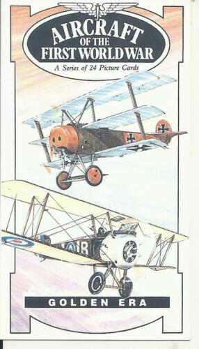 AIRCRAFT of the FIRST WORLD WAR Collectors Card Set Sopwith Bristol Fokker +