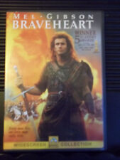 BRAVEHEART - MEL GIBSON - WIDESCREEN COLLECTION DVD - SHIPS 1st CLASS NEXT DAY
