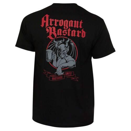 Arrogant Bastard Unite Tee Shirt Black
