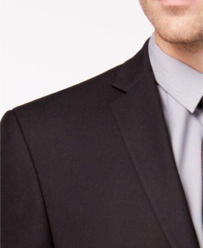 $281 MARC NEW YORK Mens CLASSIC FIT BLACK BLAZER SPORT COAT SUIT JACKET SIZE 38R