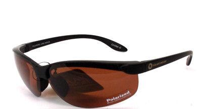 Solar Comfort Brown Amber Polarized Sunglasses 100/% UVA//UVB Foster Grant
