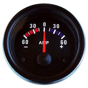 Amperemeter-Zusatzinstrument-Universal-Anzeige-Zusatz-Instrument-52mm-Ampere