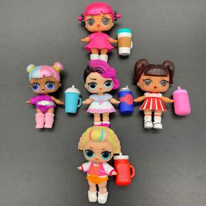 Lot-5X-LOL-Surprise-Dolls-with-Random-Dress-Shoes-Bottle-Gift-for-Girl-TT