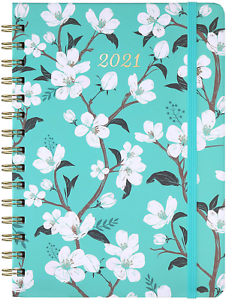 """2021 6.3/"""" x 8.4/"""" Jan Weekly /& Monthly Planner with Tabs - Dec 2021 Planner"""
