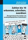 Zahlen bis 10 erkennen, schreiben, zuordnen von Kirstin Jebautzke und Monika Konkow (2013, Kopiervorlagen)