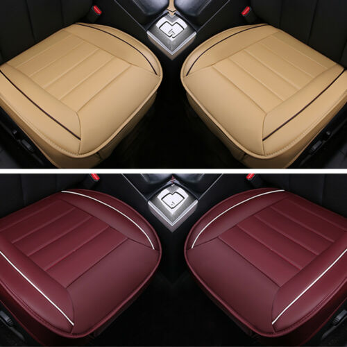 3D Deluxe Car Seat Cover PU Leather Breathable Pad Mat for Auto Chair Cushion