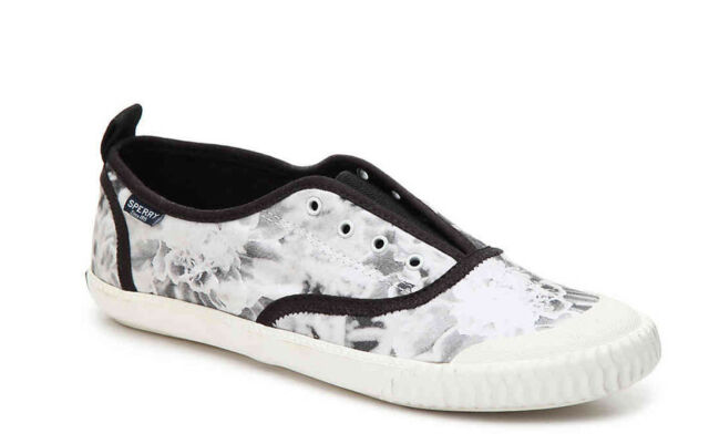 New SPERRY TOP-SIDER SAYEL CLEW FLORAL Women Shoes Sz. 7 & Sz. 7.5